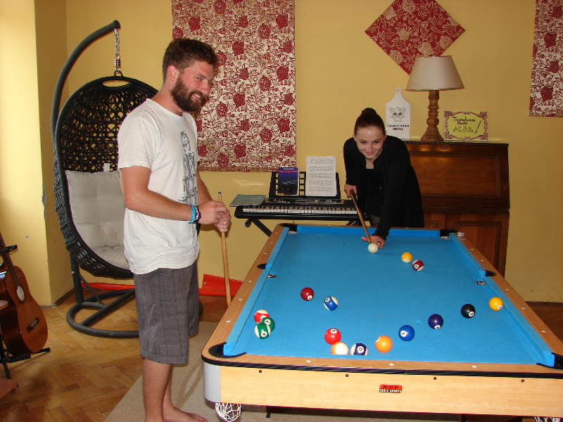 games-room-transylvania-hostel-cluj