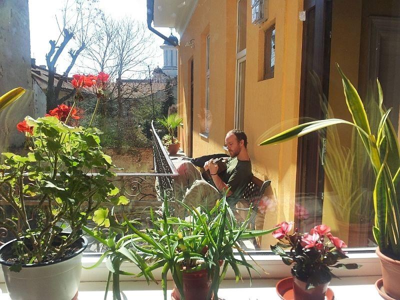 transylvania hostel terasa